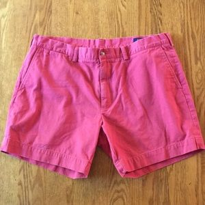 Polo Ralph Lauren Salmon Pink Chino Shorts | 38